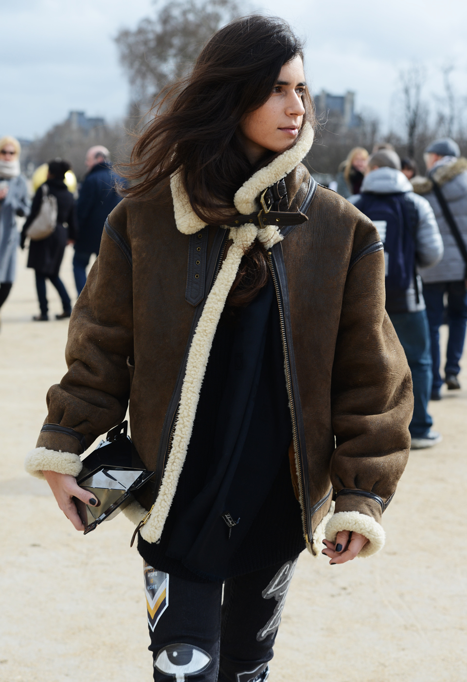 Shearling Coats: Faux or Real They&39re Hot! - Josephina Collection
